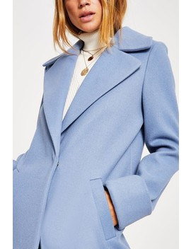 River Island L Blue Adriana Wool Coat by Next