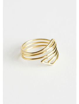 Geometric Open Frame Ring by & Other Stories