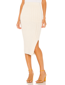 Ava Skirt In Ivory by Eleven Six