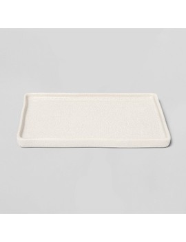 Vanity Tray Crackle Cream   Threshold™ by Shop This Collection