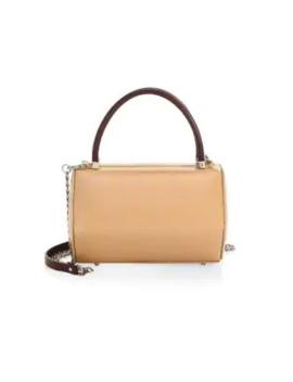 Iconics Hexa Leather Top Handle Bag by Nita Suri