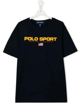 T Shirt Met Logoprint by Ralph Lauren Kids