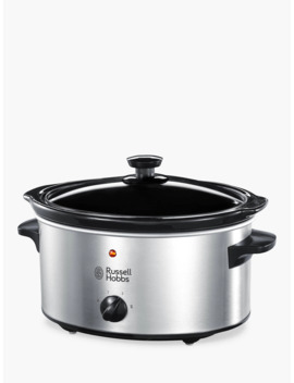 Russell Hobbs 3.5 L Slow Cooker, Stainless Steel by Russell Hobbs