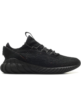 Adidas Tubular Doom Sock Core Black by Stock X
