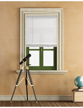 "Mainstays Cordless 1"" Vinyl Light Filtering Blinds, White by Mainstays"