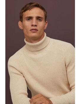 Suéter Cuello Alto Muscle Fit by H&M