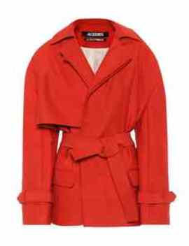 Le Manteau Carini Belted Coat by Jacquemus