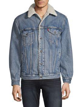 Virgil Faux Shearling Lined Trucker Jacket by Levi's