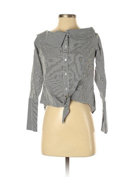 Long Sleeve Button Down Shirt by Romeo & Juliet Couture