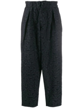 Textured Stitch Trousers by Ymc