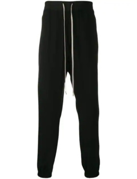 Larry Track Pants by Rick Owens