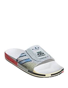Men's Rs Micro Adilette Pool Slides by Adidas By Raf Simons