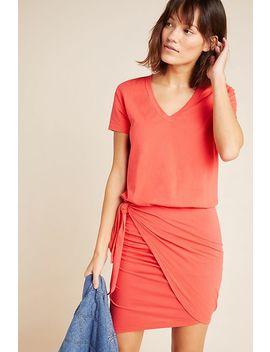 Sundry Tie Waist Mini Dress by Sundry