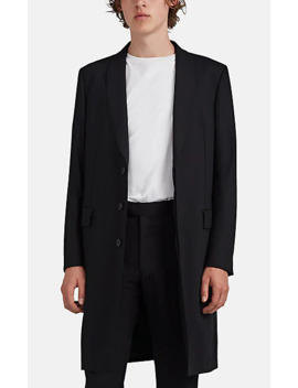 Leonard Double Wool Gabardine Topcoat by The Row