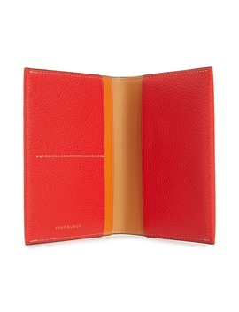 Perry Leather Passport Holder by Tory Burch