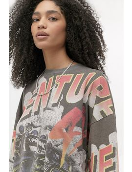 Uo Adventure Long Sleeve Skate T Shirt by Urban Outfitters