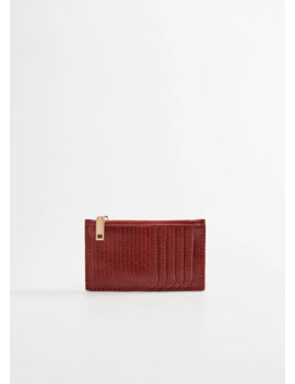 Texture Card Holder by Mango