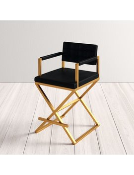 "Laurenza 38"" Bar & Counter Stool by Allmodern"