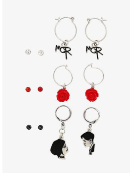 My Chemical Romance Icon Earring Set by Hot Topic