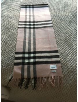 Burberry Cashmere Scarf, Ash Rose Giant Check by Ebay Seller