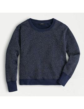 Metallic Pullover Sweatshirt by J.Crew