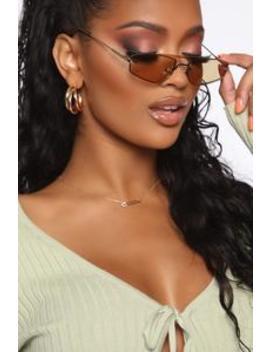 So Picky Sunglasses   Green by Fashion Nova