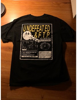 Ftp X Undefeated Locksmith Tee by Undefeated  ×  Fuck The Population  ×