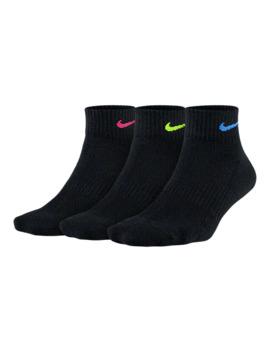 Nike Women's Dri Fit Cushion Quarter Socks   3 Pairs by Sport Chek