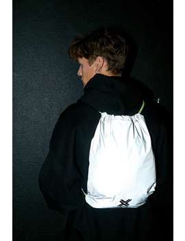 Iets Frans... Reflective Drawstring Backpack by Iets Frans...