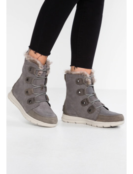 Explorer Joan   Lace Up Ankle Boots by Sorel