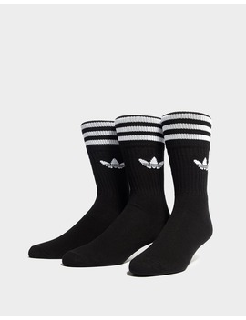 Adidas Originals 3 Pack Socks by Jd Sports