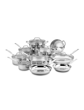 Cuisinart Chef's Classic Stainless Steel 17 Piece Cookware Set by Williams   Sonoma