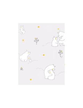 Galerie Mummy Bear & Baby Bear Wallpaper, Nd21101 by Galerie