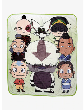 Avatar: The Last Airbender Chibi Throw   Box Lunch Exclusive by Box Lunch