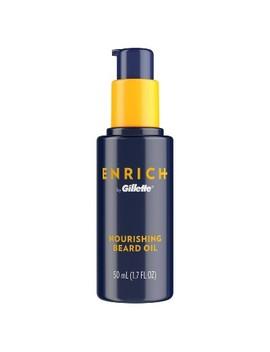 Gillette Enrich Men's Nourishing Beard Oil   1.7 Fl Oz by Gillette