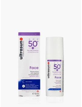 Ultrasun Spf 50+ Anti Ageing Ultra Sensitive Facial Sun Cream, 50ml by Ultrasun