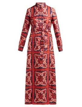 Bandana Print Silk Dress by Valentino
