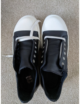 Men's Low Top Leather Sneaker by Rick Owens  ×