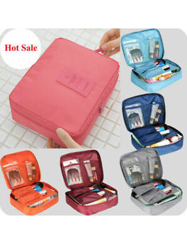 Cosmetic Clutch Travel Storage Hanging Pouch Organizer Makeup Bag Toiletry Case~ by Ebay Seller