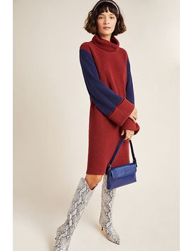 Duffy Colorblocked Sweater Dress by Callahan