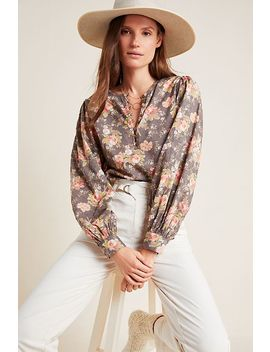 Michaela Peasant Blouse by Anthropologie