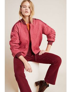 Vicenta Quilted Bomber Jacket by Anthropologie