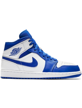 Jordan 1 Mid Hyper Royal by Stock X