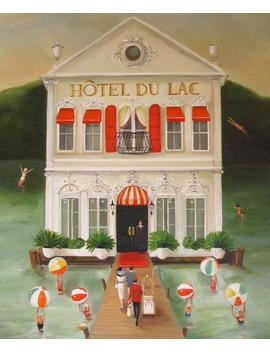 Hotel Du Lac.  Art Print by Etsy
