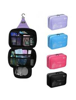 Large Waterproof Makeup Bag Travel Hook Cosmetic Bag Organizer Case Toiletry Bag by Ebay Seller