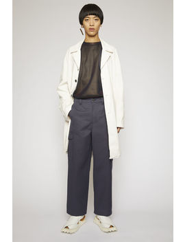 Cargo Trousers Space Blue by Acne Studios