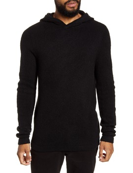 Brushed Hooded Sweater by Calibrate
