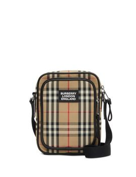 Vintage Check Messenger Bag by Burberry