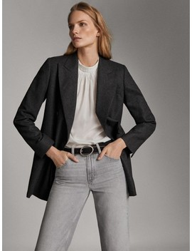 Jeans Mid Rise Straight Fit by Massimo Dutti
