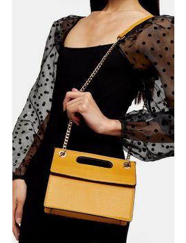 Candy Mustard Boxy Grab Bag by Topshop